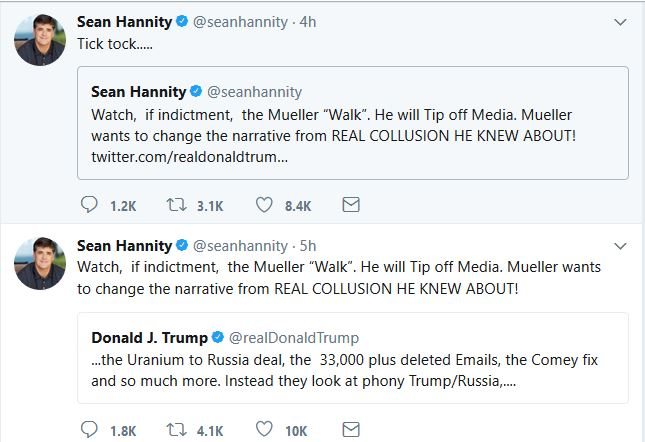 What Will Hannity Reveal on Monday Night?