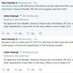 """Hannity:  Assange """"Knows"""" Source of DNC Emails"""
