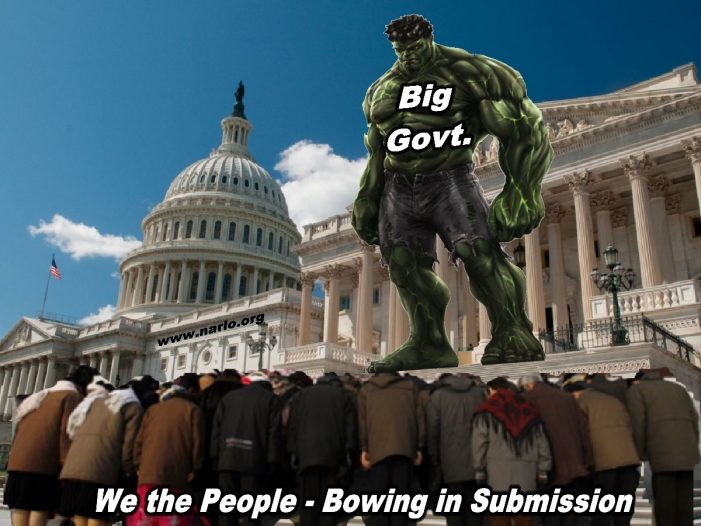 The Problem Is Big, Centralized Government