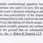 "Cruz Attorney Calls Eligibility Appeal ""Birther"" Challenge"