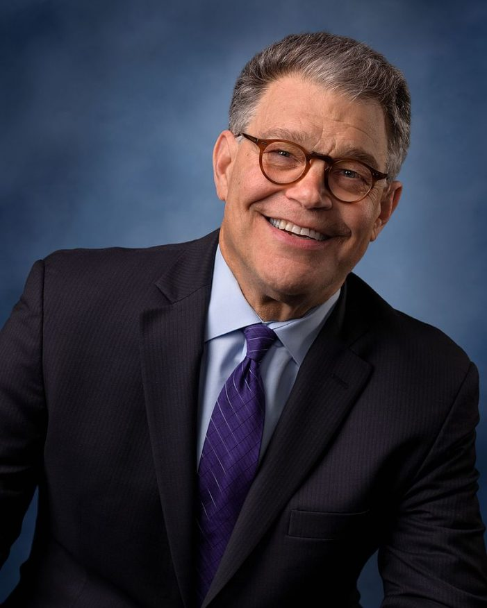 Franken Resigns, Denies Some Allegations; States as Fact Those Naming Roy Moore