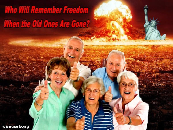 When Older Americans Die Who Will Speak For Freedom?