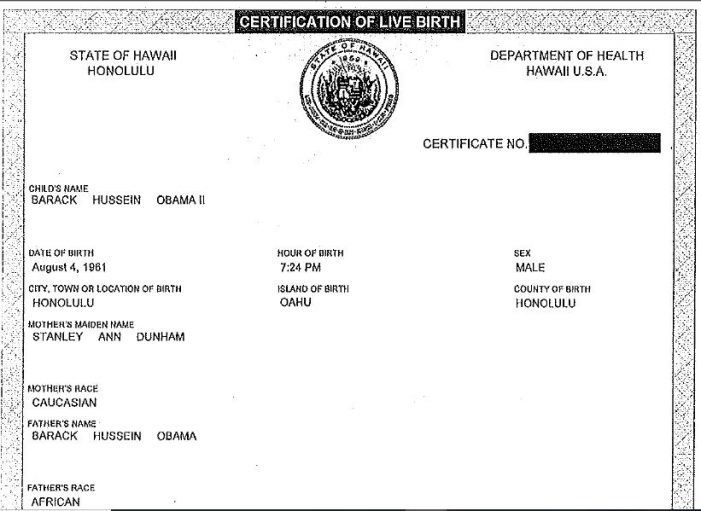 Zullo Provides New Insights on Obama Birth Certificate Mystery, Part 2