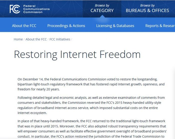 The Humanitarian Hoax of Net Neutrality: Killing America With Kindness