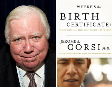 WOBC Radio:  Jerome Corsi, State Of Our Nation, Followed By Mike Zullo
