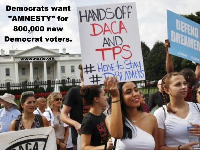 Dreamers – 800,000 New Democrat Voters