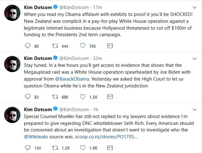 "Kim Dotcom Promises ""Evidence"" of an Obama/Biden Plot Against Him"
