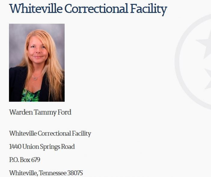 Inmate's Wife Reports Husband's Medications Discontinued with Potentially Life-Threatening Consequences