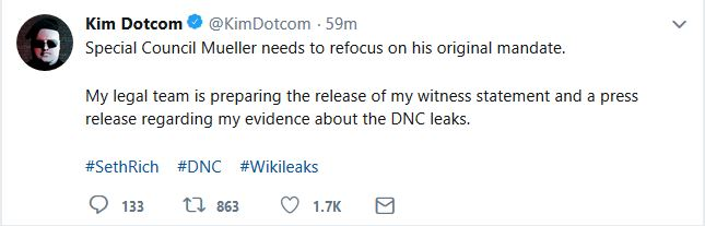 "Internet Entrepreneur Promises to Release ""Evidence"" about ""DNC Leaks"""
