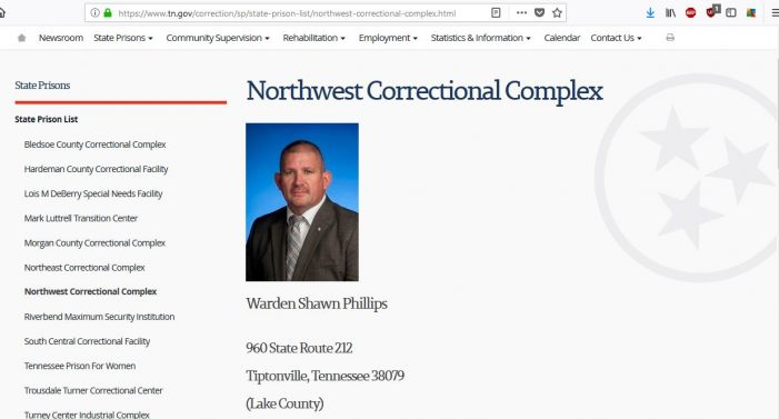 "Tennessee:  NWCX Inmate Reports Educational Staff ""Cook the Books"" for Federal Dollars"