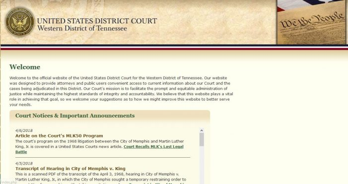 Memphis, TN:  Federal Lawsuit Filed Against Prosecutors, Police for False Arrests