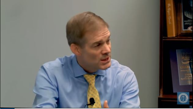 Judicial Watch:  Rep. Jim Jordan Details Absent DOJ Documents