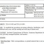 """Inmate Reports """"No Mail Room"""" at CoreCivic Facility"""