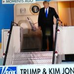 President Trump Lands in Singapore for North Korea Summit