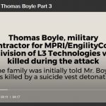 "Six Years Later, Widow Continues to Ask, ""Who Killed Thomas Boyle?"""