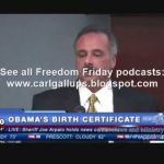 Carl Gallups on Obama Birth Certificate Investigation
