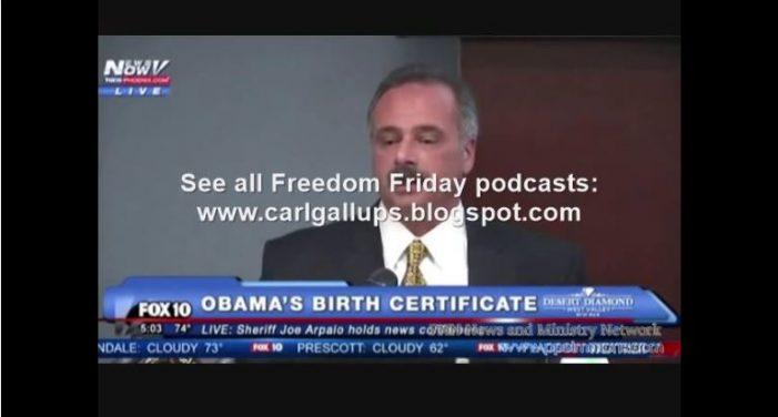 Carl Gallups on Obama Birth Certificate Investigation