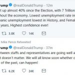 Trump Tweets in Advance of Singapore Summit
