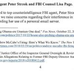 Report:  Lisa Page Attorney Issues Second Letter