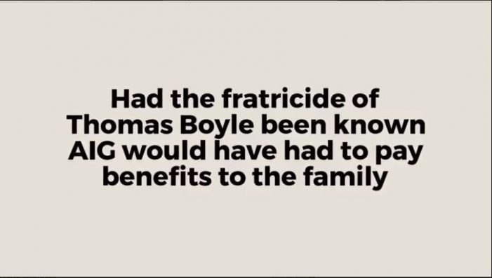 """Who Killed Thomas Boyle?"" Continued"