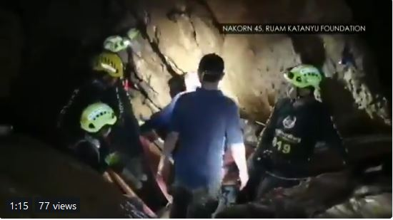 Rescue Update:  Four Boys Extracted from Labyrinthine Cave Complex in Thailand