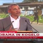 """Obama Says He is """"From Kenya"""""""