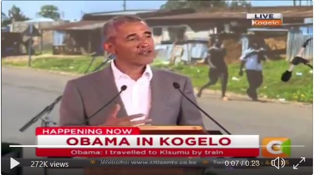 "Obama Says He is ""From Kenya"""