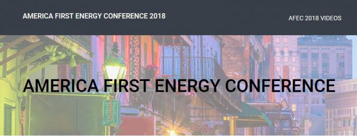 "America First Energy Conference – ""An Amazing Day"""