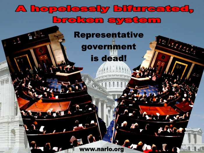 It Would Appear That Representative Government Is Dead