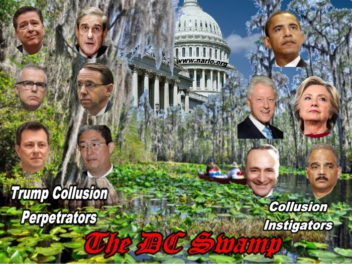 The Incestuous Cesspool in a Democratic DC Marsh