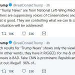 "Trump: Internet, Media ""Suppression"" ""Will Be Addressed"""