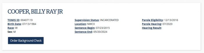 Tennessee Inmate Reports Denial of Medical Attention; Fears for His Life