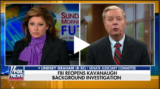 Lindsey Graham:  FBI Querying Third Accuser's Claims; Calls for Investigation into Alleged Feinstein Recommendation of Law Firm
