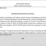 Trump Orders Certain FISA Documents Declassified