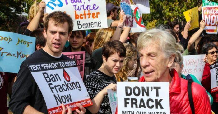 Anti-Fracking Chaos in Colorado