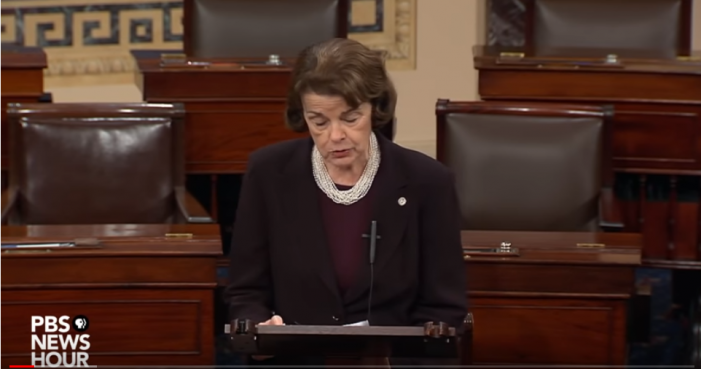 "Feinstein: ""Evidence"" Submitted by Two Kavanaugh Accusers"