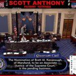 Monday Afternoon:  McConnell Speaks on Senate Floor on Kavanaugh Nomination