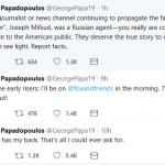 """Papadopoulos May Withdraw """"Guilty"""" Plea"""