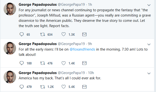 "Papadopoulos May Withdraw ""Guilty"" Plea"