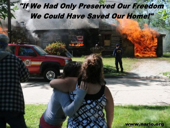 We Just Sit There and Watch While Our Home Burns