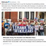 "WikiLeaks Raising Money to Sue ""The Guardian"""