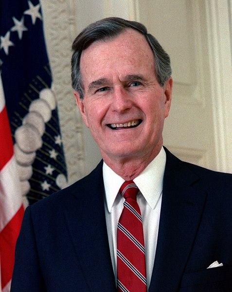 President George Herbert Walker Bush 1924-2018