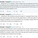 Trump Responds to Cohen Sentencing