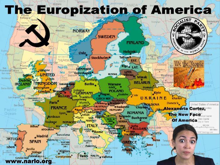 America's Trajectory Is Europe And You Can't Stop It!""