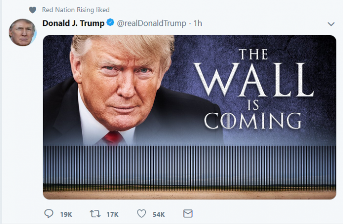 Trump Promises Border Wall