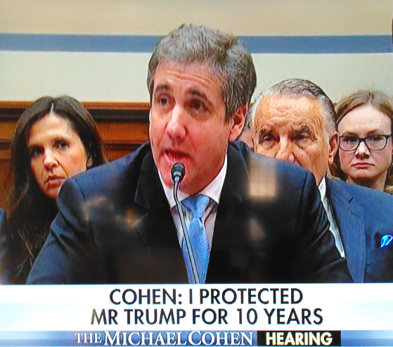 "Cohen Admits to Speaking with ""Democrat Party"" Prior to Wednesday's Testimony"