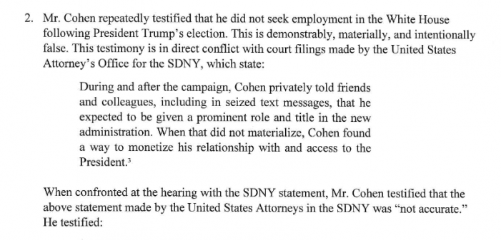 "Solomon:  ""Legal Jeopardy"" Serious for Michael Cohen"
