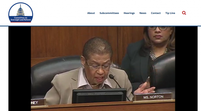 "House Oversight Committee Hearing on ""Ethics"" Voting"