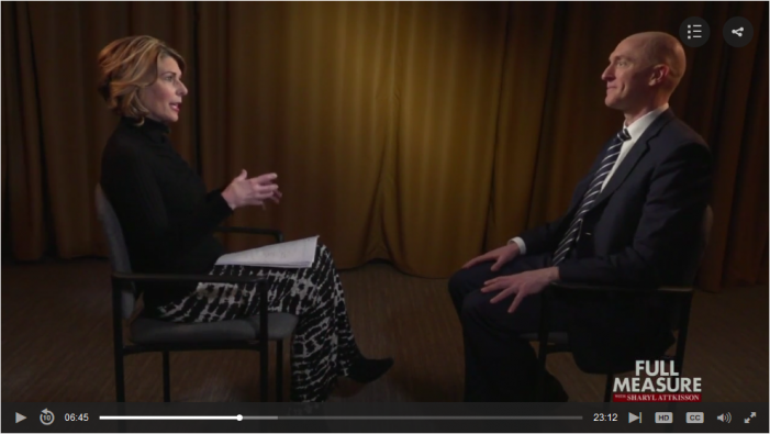 Sharyl Attkisson Interviews Carter Page