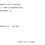 Lisa Page Transcripts Released